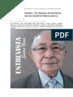 Entrevista Pr. Antonio Gilberto