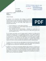 Carta Notarial de Aurelio Pastor a Nadine Heredia