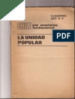 Política Obrera - Chile. Una Enseñanza Fundamental. La Unidad Popular 2