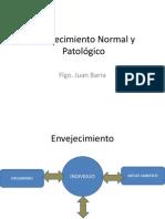 Clase Envejecimiento Normal y Patologico