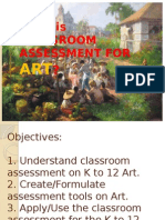 Assessment Grade 4 Arts
