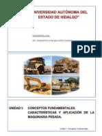 2015-2016 Inter MT Unidad 1 Tema 2 - Características y Aplicación de La Maquinaria Pesada - Navarro