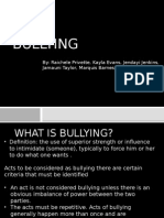 Bullying Powerpoint Presentation