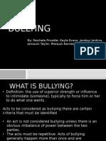 Bullying Powerpoint Presentation