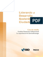 Casos de Estudio. Gestion Financiera Subnacional
