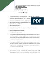 Matematica Aplicada - Demanda e Oferta - Lista de Exerc+¡cios Complementares_1