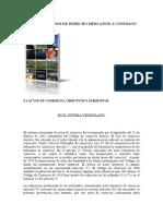 Unidad 5º Principios de Derecho Mercantil y Contrato de Obra