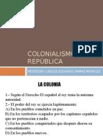 3   semana  Organización Epoca Colonial