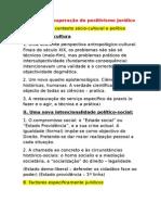 Factores de Superação Do Positivismo Jurídico