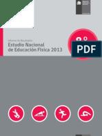 Estudio Nacional Educacion Fisica 2013