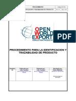 PREGUNTA 21 AC_P_10_Identificación y Trazabilidad de Producto