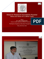 ORF - Dr a Rajvanshi - 260310