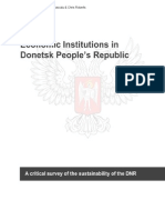 Economic institutions in Donetsk People's Republic