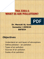 AIR QUALITY AND POLLUTION (TKA 3301)  LECTURE NOTES 2-What is Air Pollution