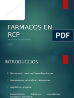 Farmacos en RCP