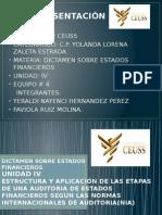 Unidad IV ESTADOS FINANCIEROS