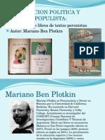 Socialización política y discurso populista. Caso de los libros de texto peronistas