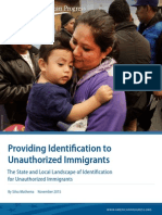 Providing Identification to Unauthorized Immigrants