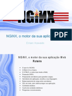 NGiNX, o Motor Da Sua Aplicação Web
