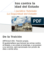 Delitos contra la Seguridad del Estado.pptx