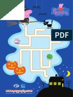 Peppa Noite Das Bruxas Labirinto