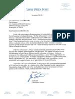 Port of Raymond Letter
