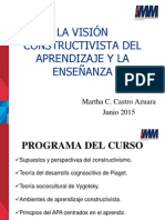 Presentación Constuctivismo Martha Castro
