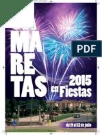 Programa Fiestas Camaretas 2015