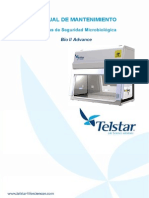 Cabina de Flujo Laminar - Telstar-bioiiadvance II - Servicio - e
