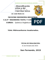 Informe 7 Quimica Organica