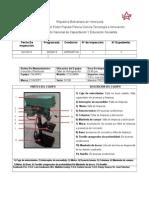 Formato de Inspeccion Del Taladro de Columna