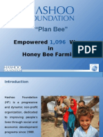 Plan Bee Empowered 1,096 Women in Honey Bee Farming_By Kamal 2015