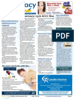 Pharmacy Daily for Tue 24 Nov 2015 - Epharmacy $32k ACCC fine, PBS saves $7b in hospitals, Healthscope link to Medibank, Guild Update and much more