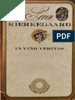 Kierkegaard Soren - In Vino Veritas