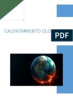 Calentamiento global y cambio climatico