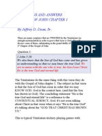 A Study of Gospel of John Chapter 1