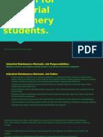 English for Industrial Mahinery Students.(Biografia Diapositivas)