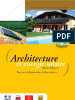Architecture Energie Solaire