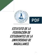 Estatuto Federacion de Estudiantes UMAG 2014