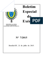 Boletim do Exército 7-15