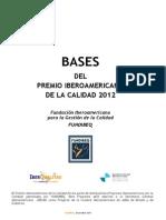 Bases Premio Fundibeq 2012