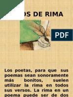 Tipos de Rima