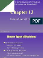 Dss Information System Managemen