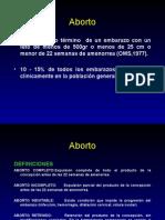 Aborto - Dr. Escalona