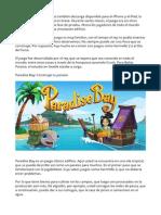 Conociendo Paradise Bay