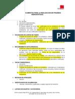 Lista de Documento de La Prueba Hidrostatica Tramo 2.