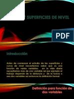 Presentación Curvas y Superficies de Nivel Versión 1