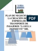Plan de Negocio para la creación de una Empresa de Transportes