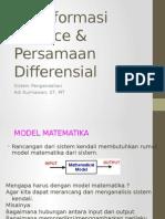 Transformasi Laplace & Persamaan Differensial