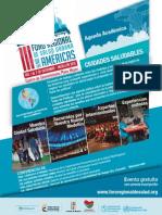 Agenda Académica Foro Regional Américas